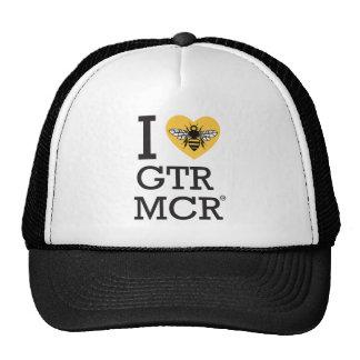 Eu amo maior Manchester Boné