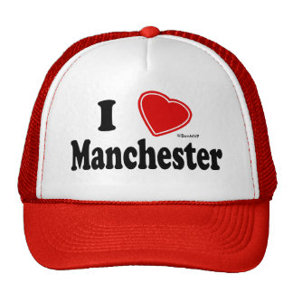 Eu amo Manchester Bonés
