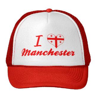 Eu amo Manchester Geórgia Bones