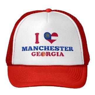 Eu amo Manchester Geórgia Bone