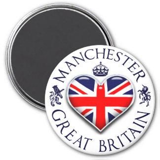 Eu amo Manchester Imã