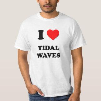 Eu amo maremotos tshirt