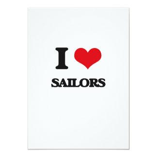 Eu amo marinheiros convites