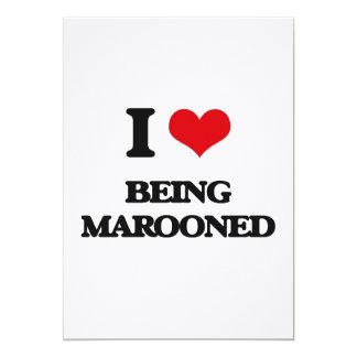 Eu amo Marooned Convites Personalizado