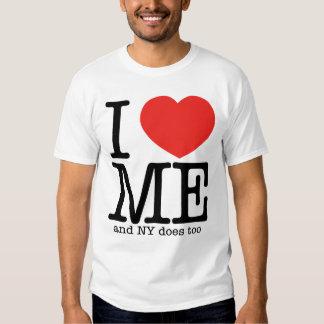Eu amo me (e NY faz demasiado) Tshirt