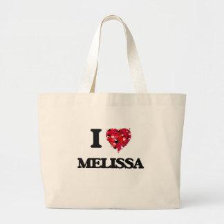 Eu amo Melissa Sacola Tote Jumbo