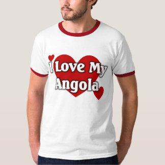 Eu amo meu Angola Tshirt