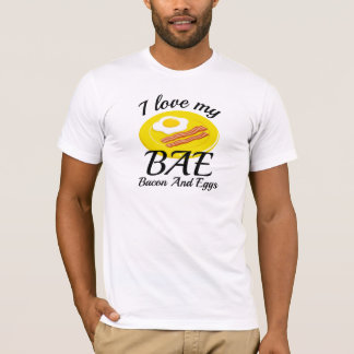 Eu amo meu BAE Camiseta