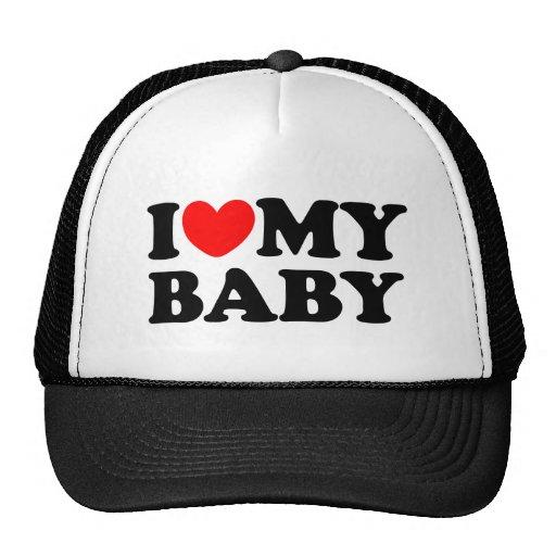 Eu amo meu bebê boné