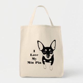 Eu amo meu bolsa da compra da bolsa de compra do