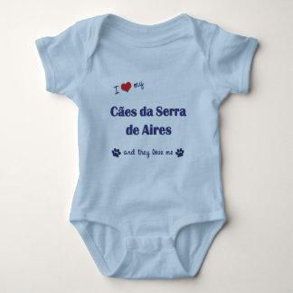 Eu amo meu Caes a Dinamarca Serra de Aires (os T-shirt