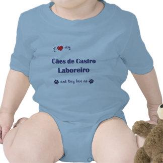 Eu amo meu Caes de Castro Laboreiro (os cães Macacãozinhos Para Bebê