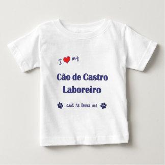 Eu amo meu Cao de Castro Laboreiro (o cão Camiseta Para Bebê