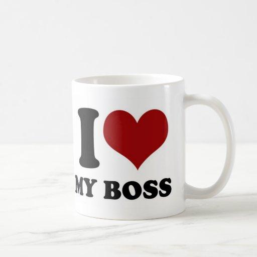 Eu amo meu chefe - caneca