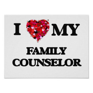 Eu amo meu conselheiro da família poster