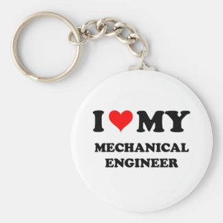 Eu amo meu engenheiro mecânico chaveiros