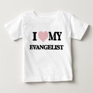 Eu amo meu evangelista (o coração feito das tshirts