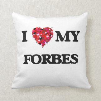 Eu amo MEU Forbes Travesseiros De Decoração