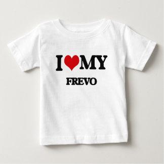 Eu amo meu FREVO Camisetas