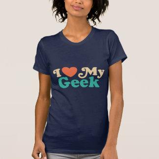 Eu amo meu geek tshirts