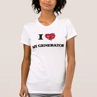 Eu amo meu gerador t-shirt