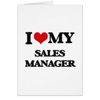 Eu amo meu gerente de vendas