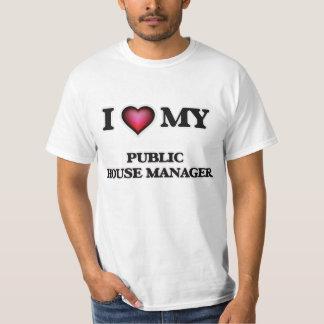 Eu amo meu gerente do bar tshirt