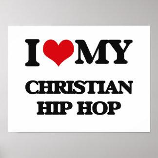 Eu amo meu HIP HOP CRISTÃO Poster