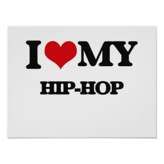 Eu amo meu HIP-HOP Poster