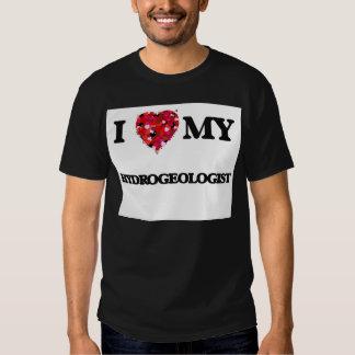 Eu amo meu Hydrogeologist Tshirt