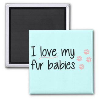 Eu amo meu ímã dos bebês da pele imas