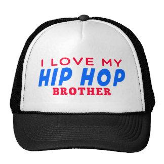 Eu amo meu irmão da dança de Hip Hop Bonés