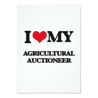 Eu amo meu leiloeiro agrícola convite personalizados