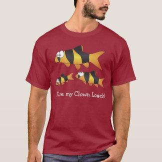 Eu amo meu loach do palhaço - o peixe o mais t-shirts