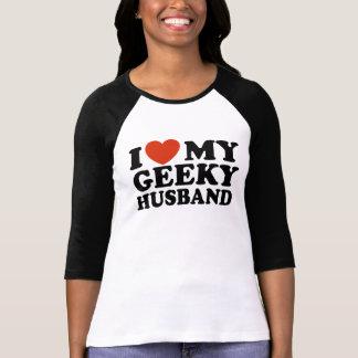 Eu amo meu marido Geeky Tshirts