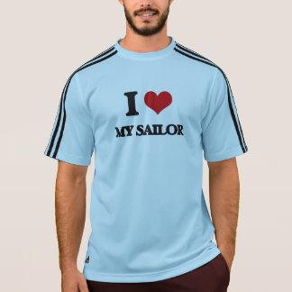 Eu amo meu marinheiro camiseta