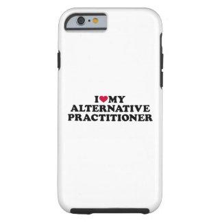 Eu amo meu médico alternativo capa tough para iPhone 6