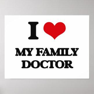 Eu amo meu médico de família posters