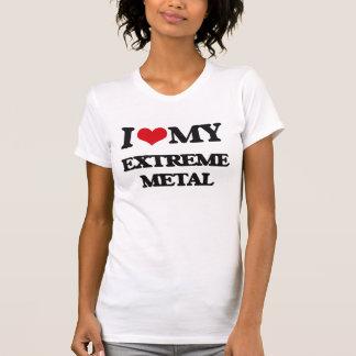 Eu amo meu METAL EXTREMO T-shirt