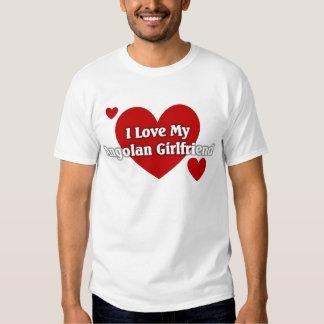 Eu amo meu namorada angolano tshirts