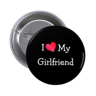 Eu amo meu namorada bóton redondo 5.08cm