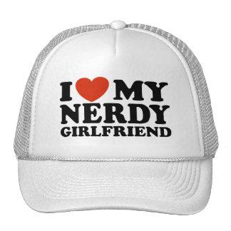 Eu amo meu namorada Nerdy Bonés