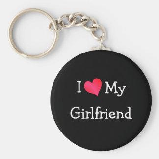 Eu amo meu namorada chaveiro