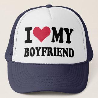 Eu amo meu namorado boné