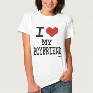 Eu amo meu namorado tshirts