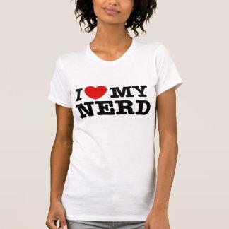 Eu amo meu nerd t-shirts