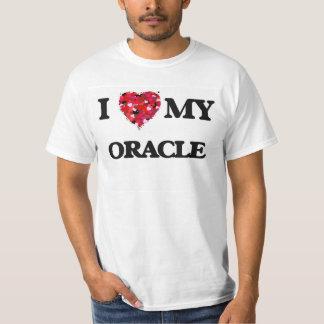 Eu amo meu Oracle Camiseta