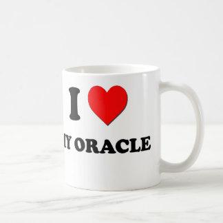 Eu amo meu Oracle Caneca De Café