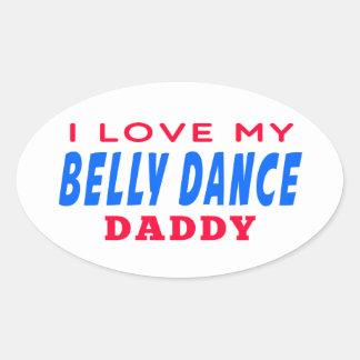 Eu amo meu pai da dança do ventre adesivo