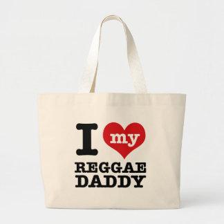 Eu amo meu pai do dançarino da reggae bolsas para compras